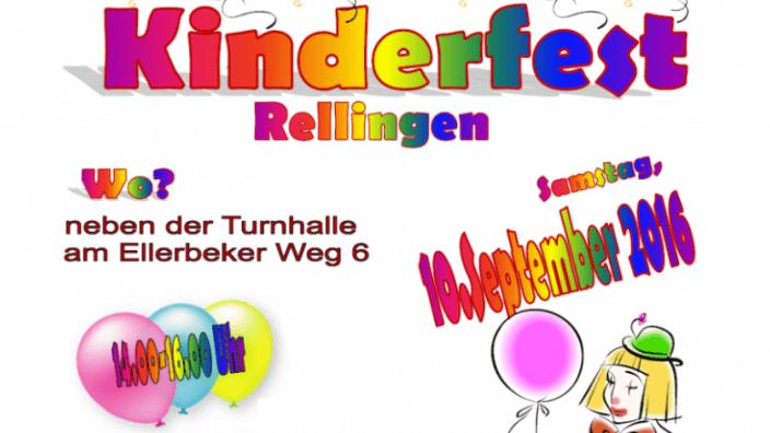 Einladung zum Kinderfest