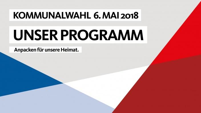 Wahlprogramm der CDU Rellingen